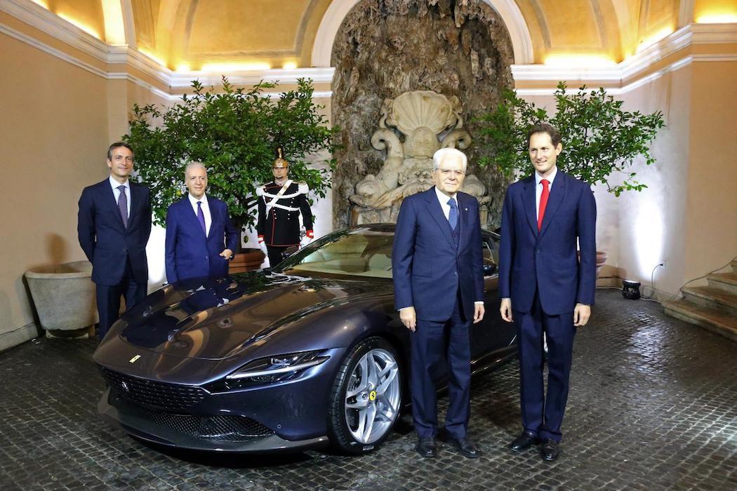 Ferrari quirinale media