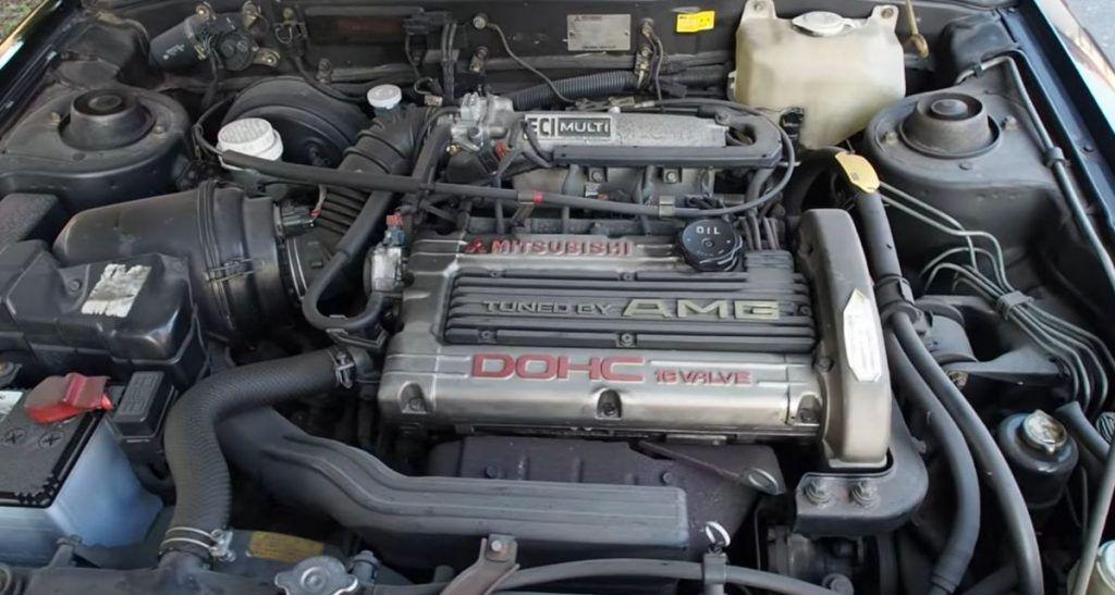 Mitsubishi Galant AMG, ali ne, nismo fulali naziv modela, ova suradnja stvarno je postojala 3