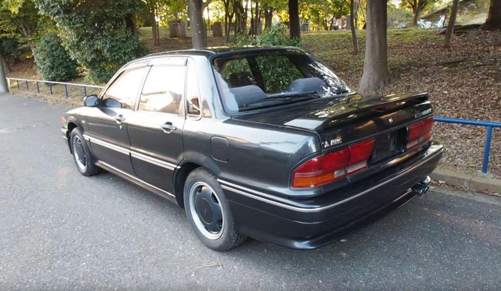 Mitsubishi Galant AMG, ali ne, nismo fulali naziv modela, ova suradnja stvarno je postojala 1