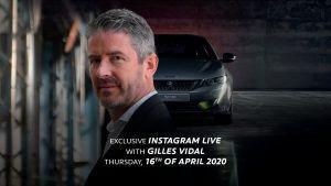 Pratite uživo, Gilles Vidal otkriva tajne dizajna marke Peugeot