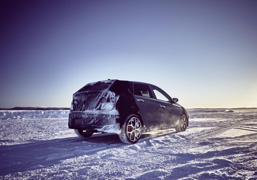 Hyundai i20 N kroz hladne izazove brusi se za veliku premijeru 1