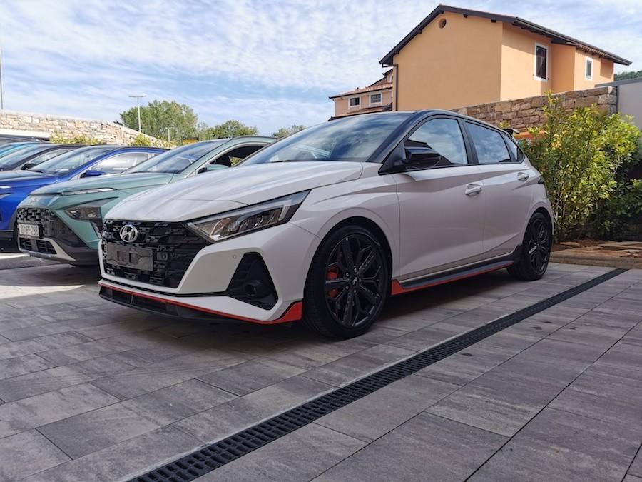 Hyundai i N premijera istra motovun cijena zvuk