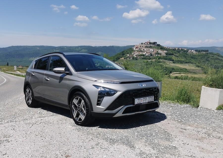 Hyundai Bayon premijera cijena test vožnja Istra motovun