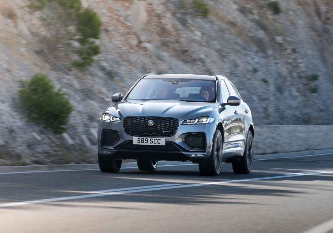 Jaguar F Pace  New PHEV