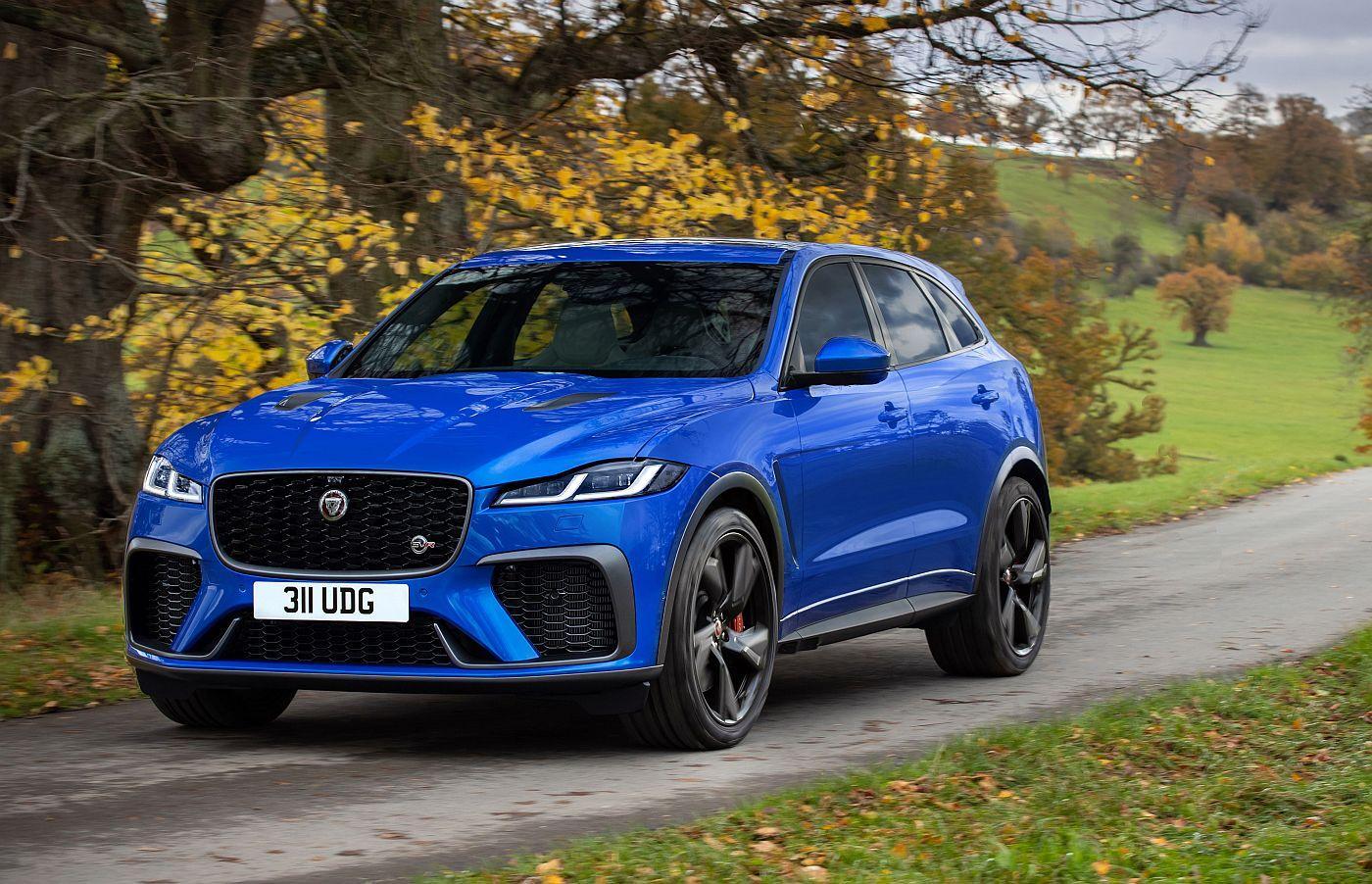 Jaguar F-Pace SVR je SUV s fokusom na asfalt i što bolje performanse