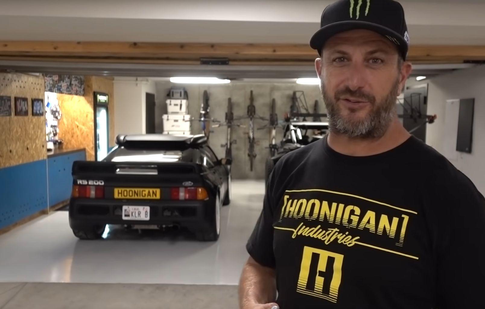 Ken Block garage