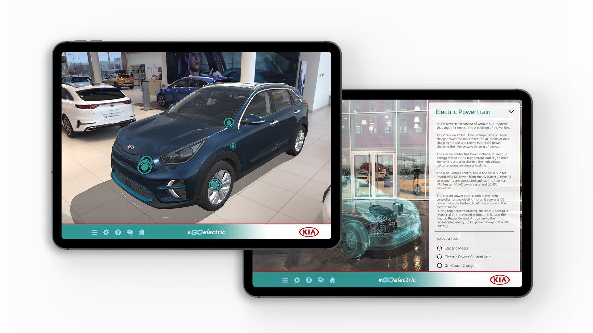Kia Go Electric App digital app