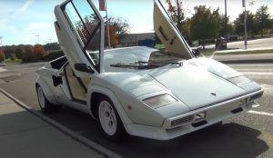 Lamborghini Countach i fantastičan doživljaj legende sa suvozačke pozicije