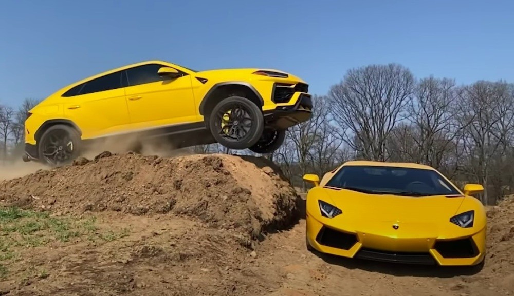 Lamborghini Urus Aventador