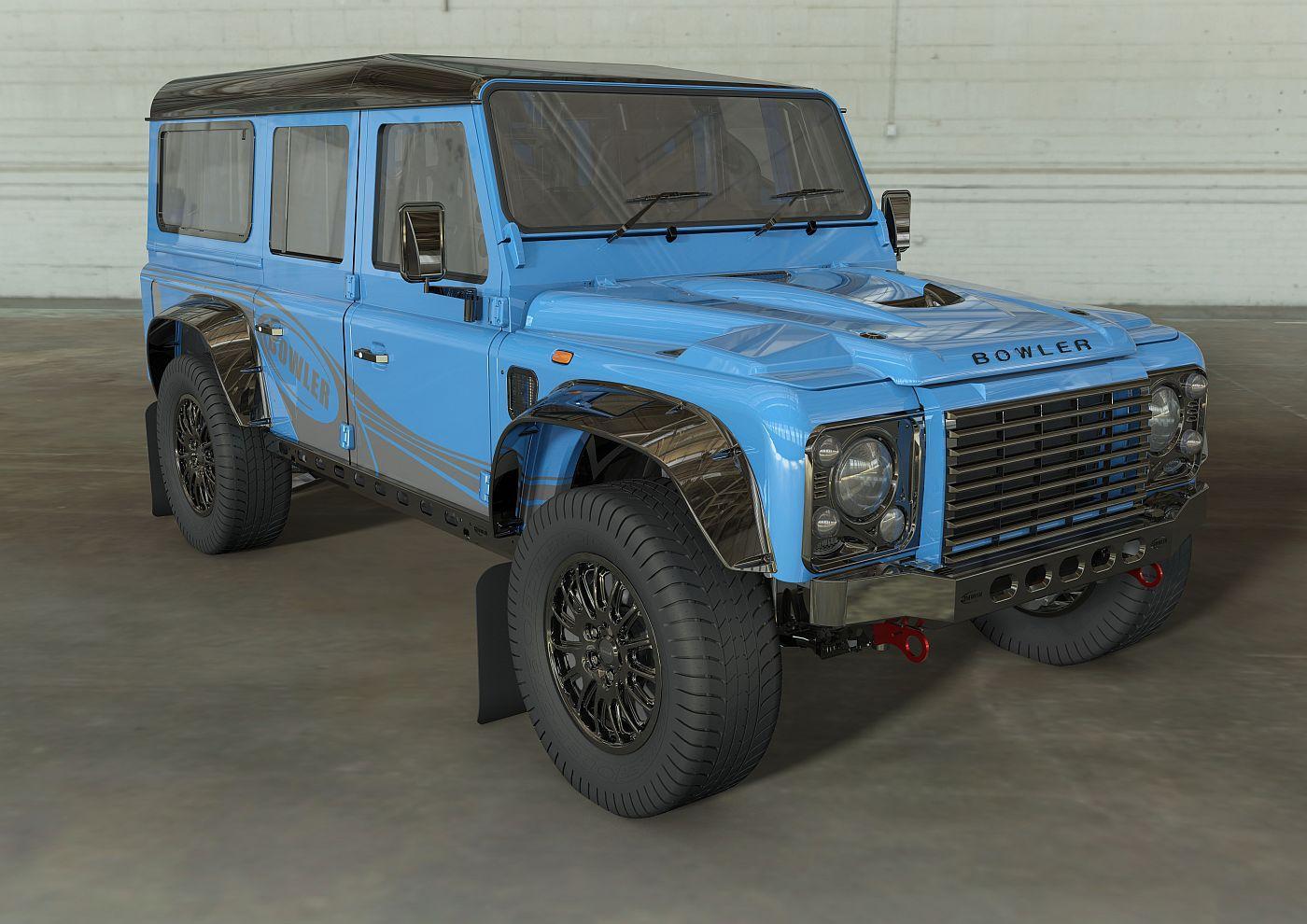 Land Rover Defender CSP Bowler