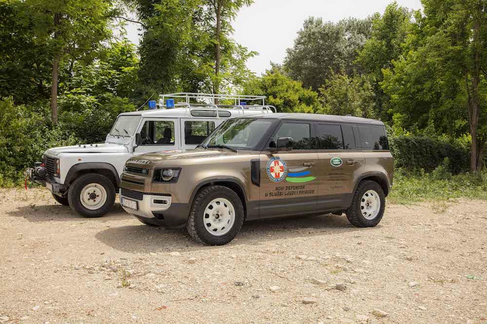 Land Rover HGSS Defender