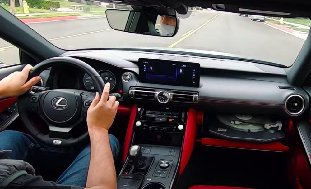Lexus IS Gramofon