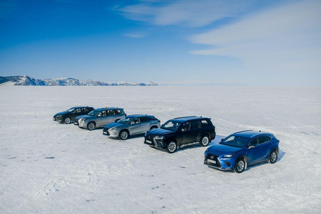 Lexus Rusija bajkal jezero