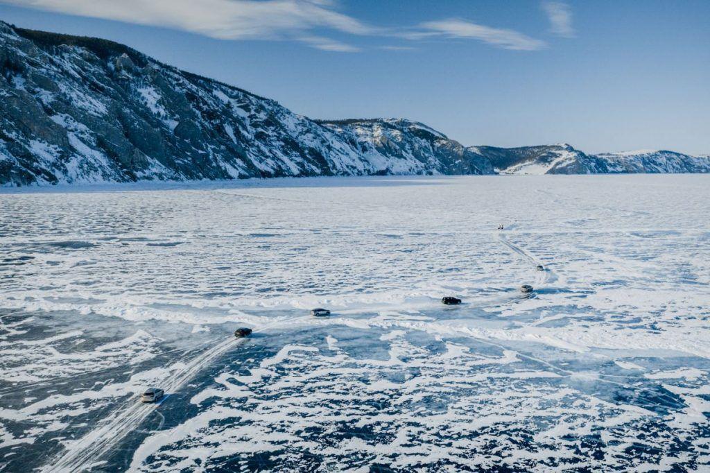 Lexus na Bajkalskom jezeru, bajkoviti prizori i potvrda hibridnih mogućnosti na ledu 3