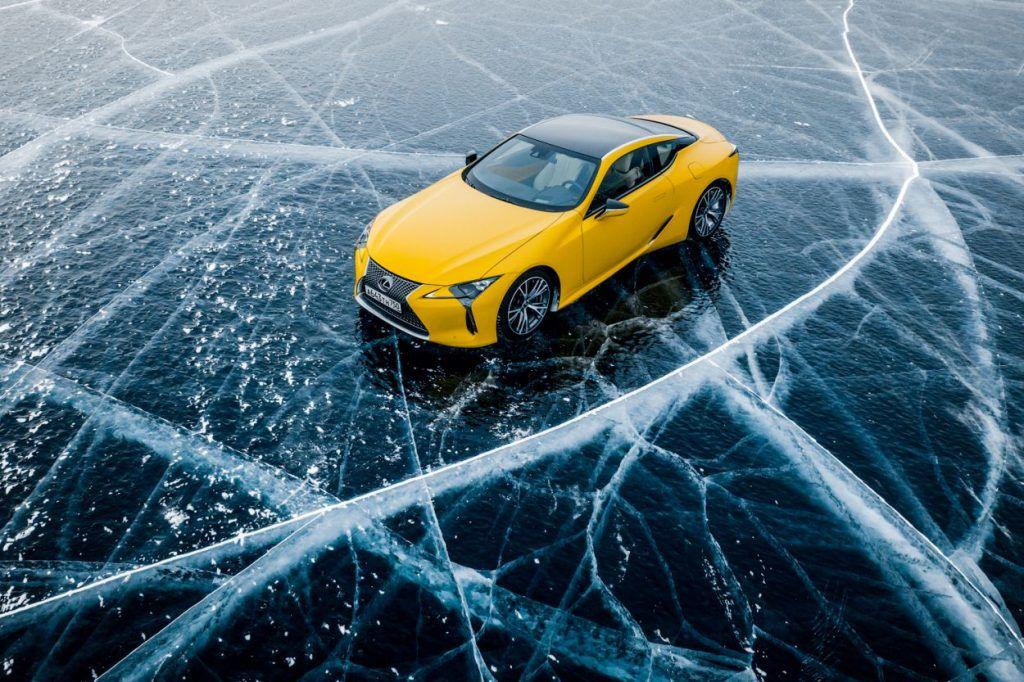 Lexus na Bajkalskom jezeru, bajkoviti prizori i potvrda hibridnih mogućnosti na ledu 4