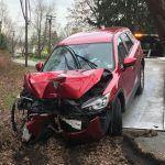 Lincoln police Mazda CX