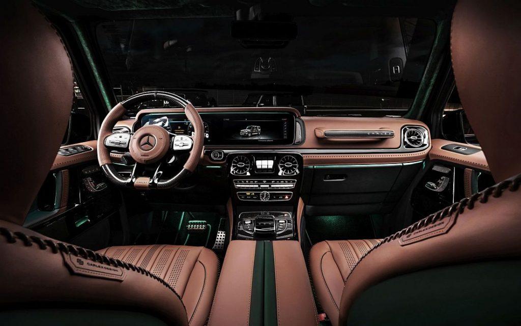 Mercedes-AMG G63 by Carlex Design - SUV poslastica sa 585 KS i najfinijom kožom za najodvažnije 3