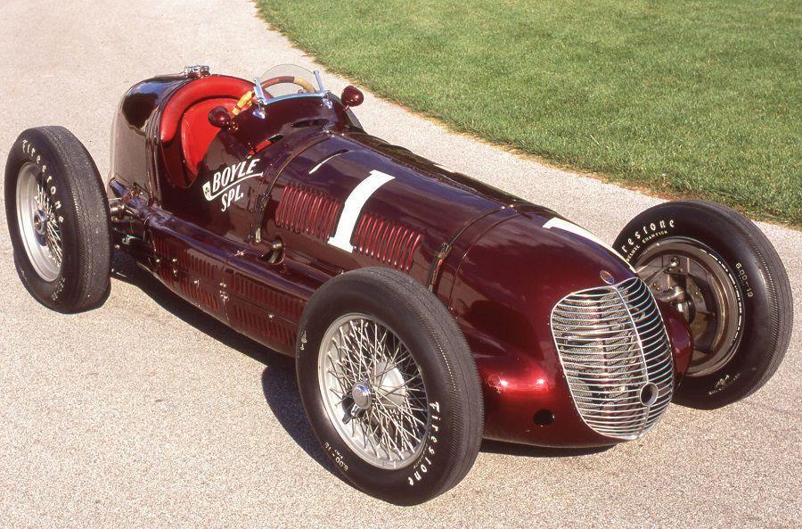 Maserati CTF Indianapolis winner © John Lamm