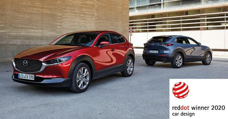 Mazda CX-30 i MX-30 okrunili se nagradom Red Dot za dizajn 2020
