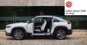 Mazda CX-30 i MX-30 okrunili se nagradom Red Dot za dizajn 2020 1