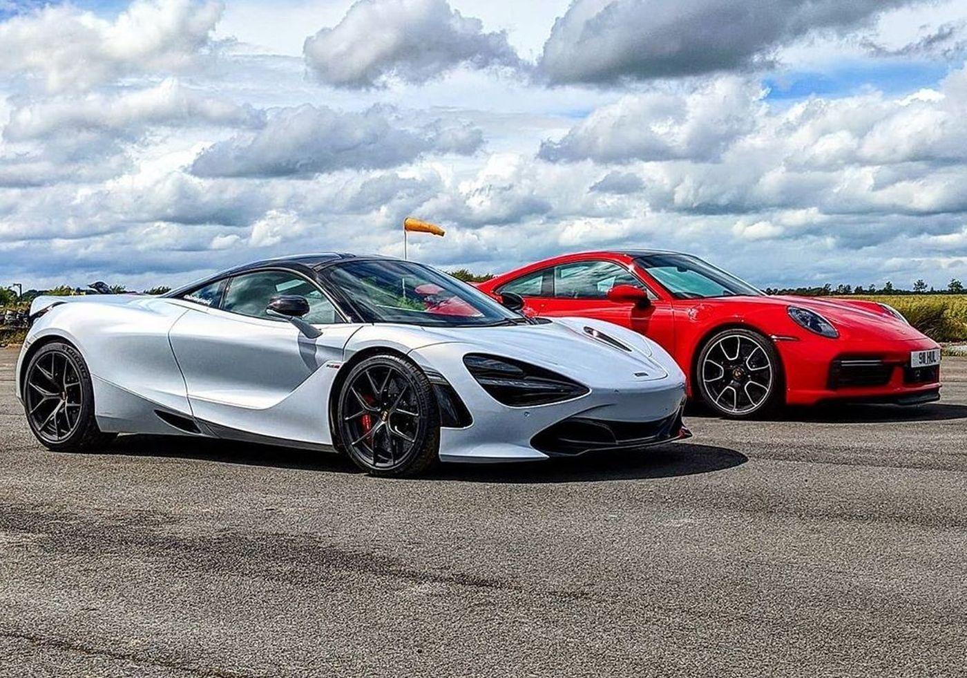 McLaren s Porsche  Turbo S