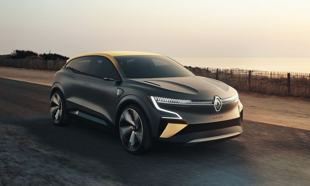 Renault u ofenzivi, eVision danas, 2022. novi Megane
