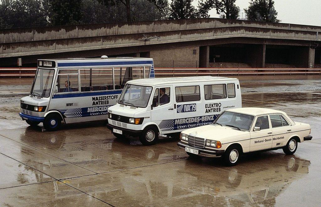 Mercedes-Benz 307 E, legendarni kombi u elektro izdanju predstavio se prije 40 godina 3