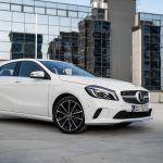 Mercedes A rabljeni test vožnja potrošnja iskustvo