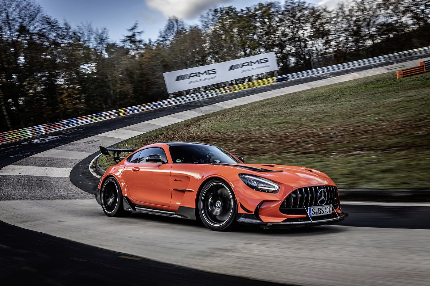 Mercedes AMG GT Black series Ring record