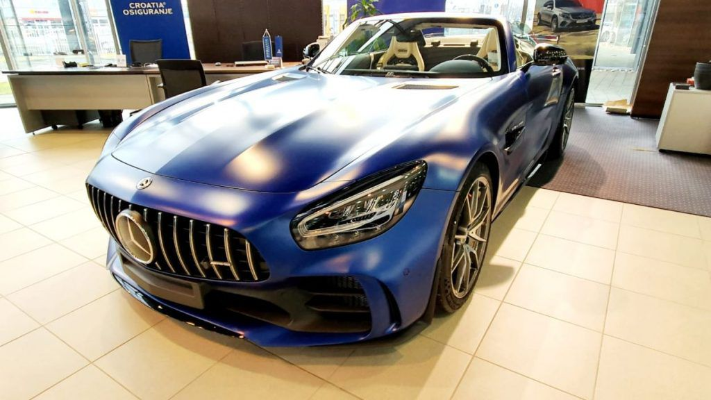 Ekstremni Mercedes-AMG GT R Roadster u Zagrebu čeka novog vlasnika