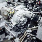 Mercedes AMG turbocharger