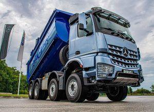 Mercedes-Benz Arocs 4151 K u dojmljivom izdanju pojačava prijevoznika iz Trogira