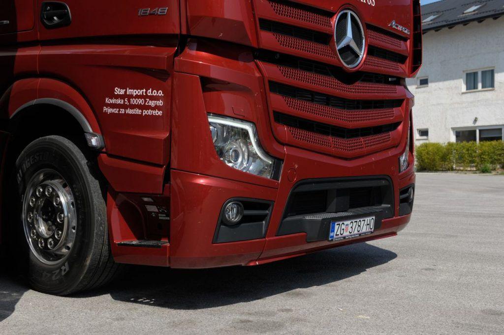 Mercedes-Benz Actros (MP5), veliki test otkriva jesu li retrovizori i potrošnja najjači adut kamiona godine? 6