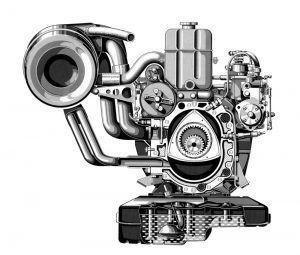 Mercedes-Benz C 111-II nepoznati koncept slavi 50 godina od premijere u Ženevi 2