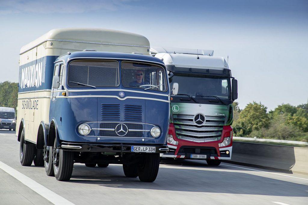 Mercedes-Benz L 5000 i LP 333, ponosi akteri putujućeg muzeja legendarnih kamiona 2