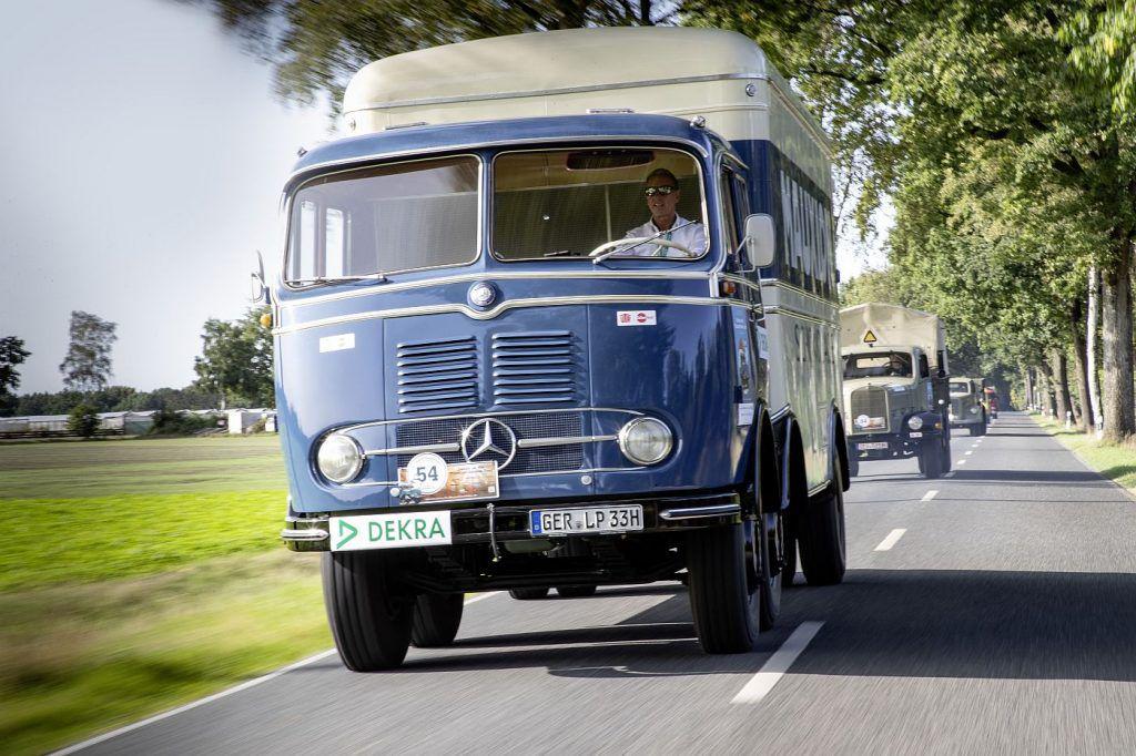 Mercedes-Benz L 5000 i LP 333, ponosi akteri putujućeg muzeja legendarnih kamiona