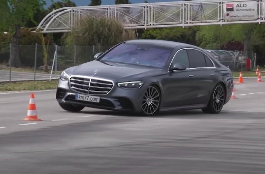 Mercedes Benz s klasa w test jelen cunjevi