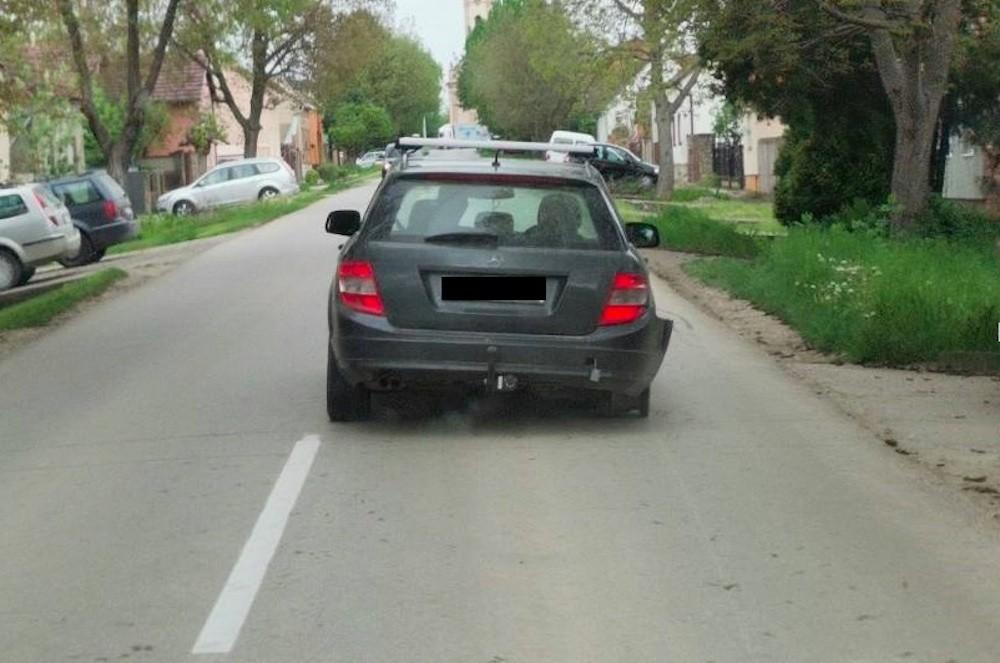Mercedes C klasa pijan alkohol vožnja