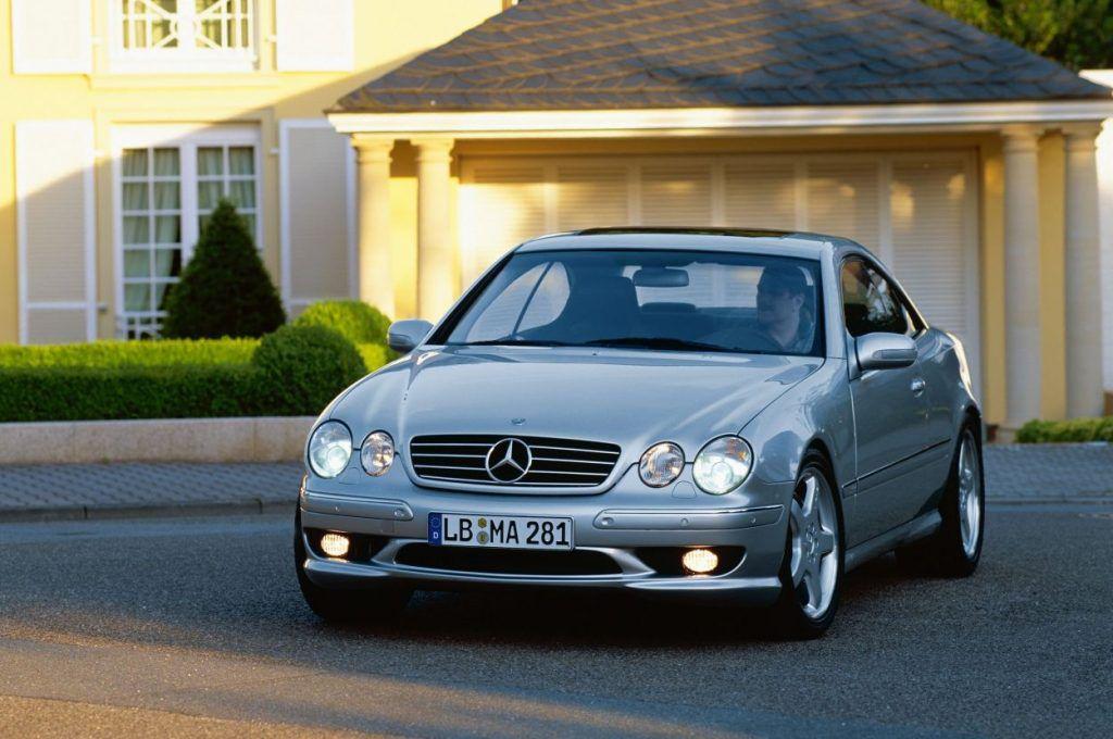 Mercedes-Benz CL 55 AMG F1 Limited Edition – izvedba napravljena prije 20 godina po uzoru na 'safety car' Formule 1 7
