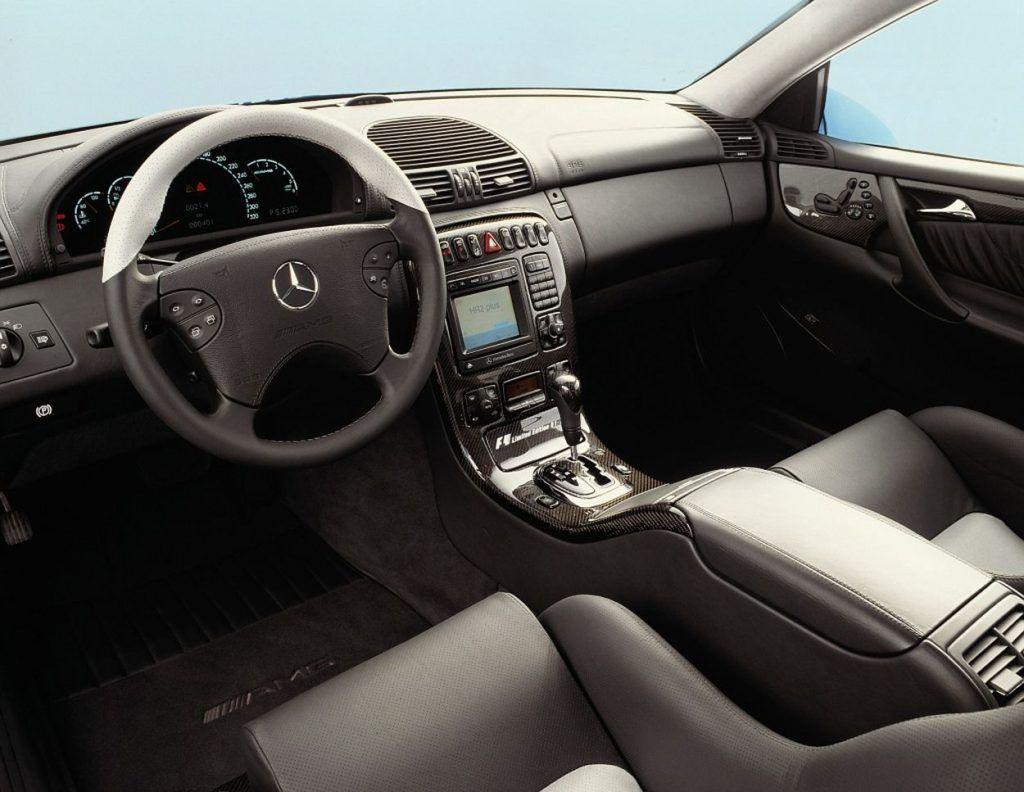 Mercedes-Benz CL 55 AMG F1 Limited Edition – izvedba napravljena prije 20 godina po uzoru na 'safety car' Formule 1 6