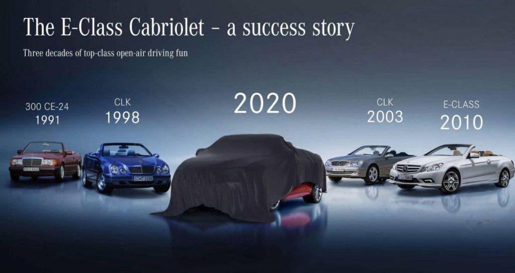 Mercedes-Benz najavio nove premijere, stiže osvježena E-klasa coupe i cabrio 2