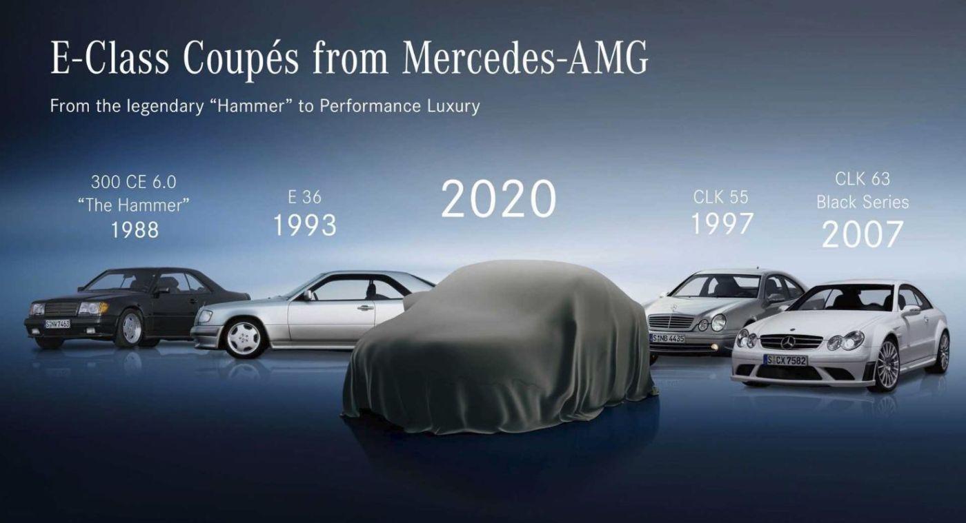 Mercedes E klasa coupe najava