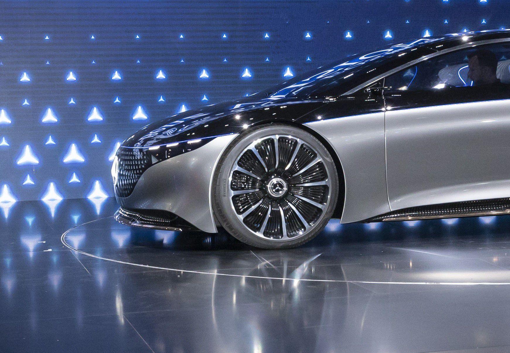 Mercedes EQS  cola kotač driveteam