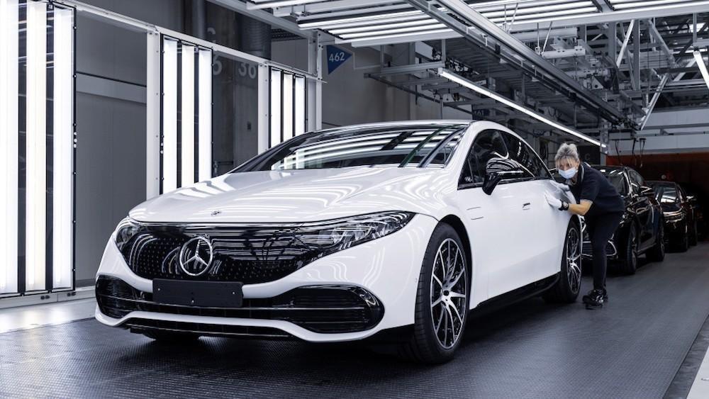 Mercedes EQS proizvodnja tvornica