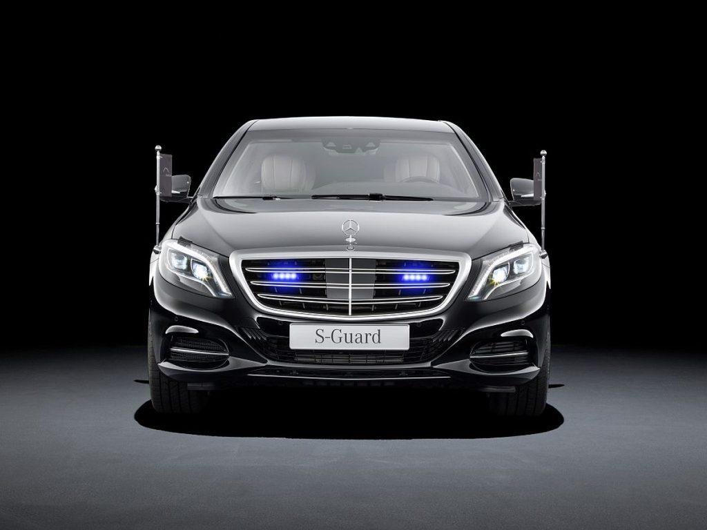 Mercedes-Benz S 600 Guard, limuzina rezervirana za štićene osobe 1
