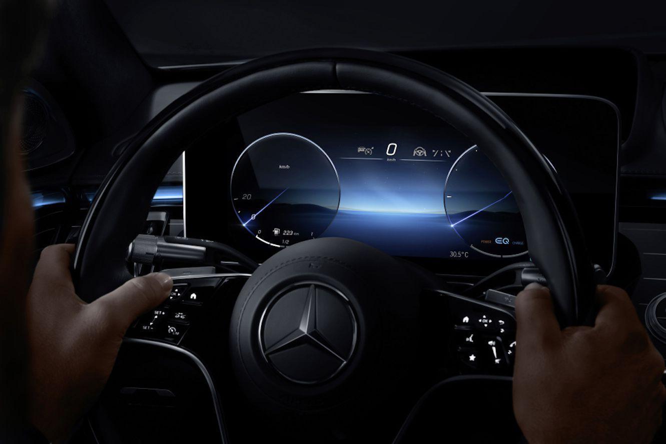 Mercedes S MBUX