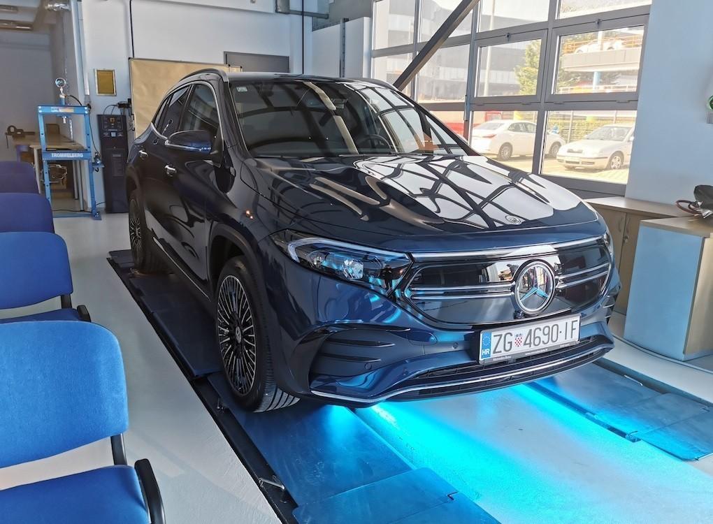 Mercedes EQA prezentacija
