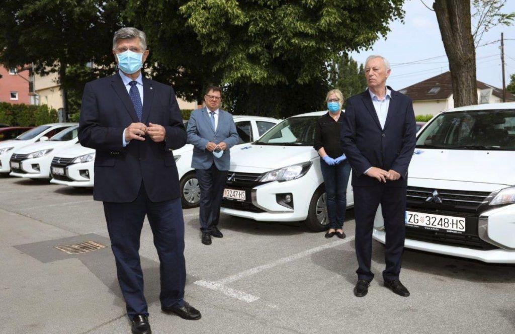 Isporuka 11 vozila, Mitsubishi Space Star u službi patronažne Doma zdravlja Zagrebačke županije 1