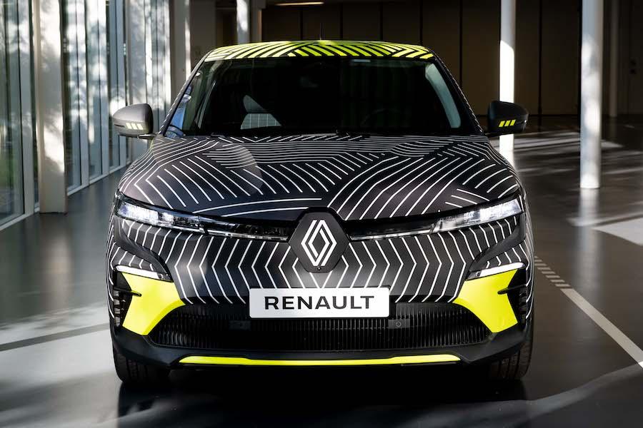 New Renault MEGANE E TECH Electric pre production