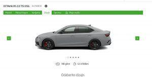 Škoda Octavia RS stigla u Hrvatsku, češka sportašica od 245 KS već od 270.000 kuna